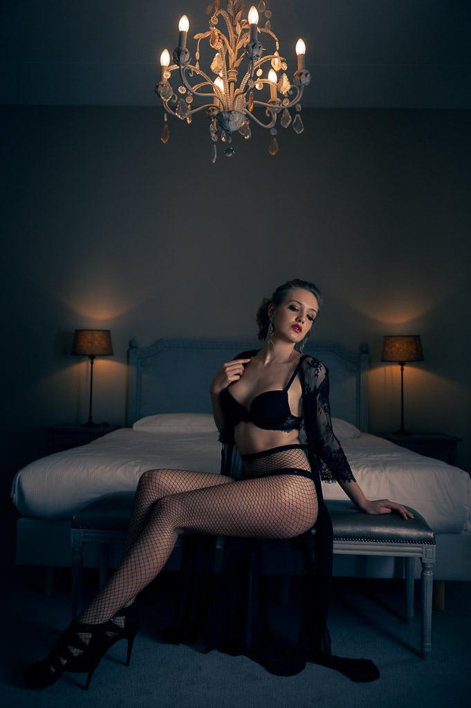 Draag mooie lingerie tijdens je boudoirshoot