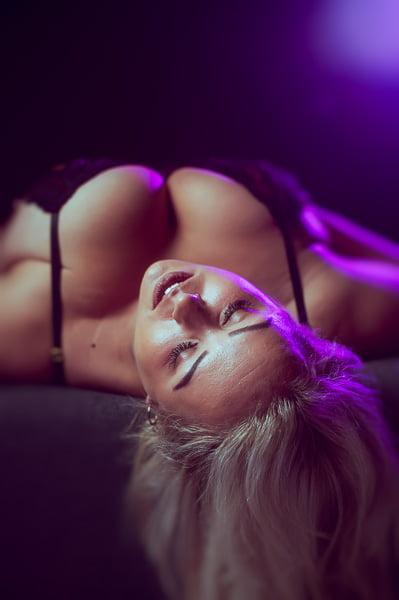 Plus-size boudoir fotoshoot