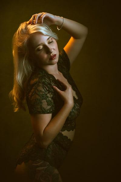 Fotograaf Den Helder boudoir fotoshoot met Els