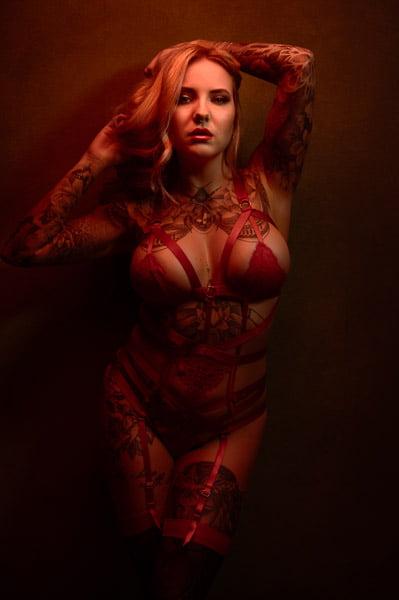 Sexy tattoo fotoshoot Den Helder